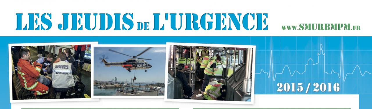 « Les Jeudis de l'Urgence » - Le programme 2015-2016